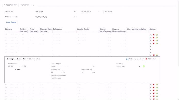 Spesenabrechnung Lkw Fahrer Vom 02 09 2018 by Blitzverlag issuu