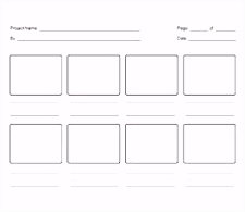 23 Best storyboard templates images