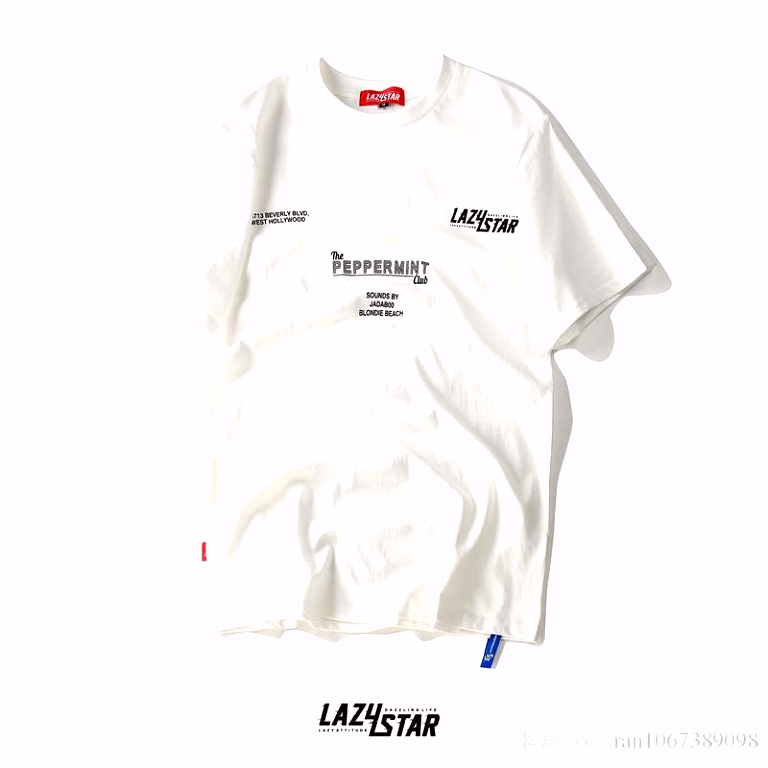 Großhandel Mode Hip Hop Street Style Männer Lose T Shirt 100