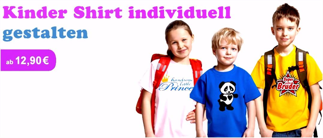 Kinder T Shirt Druck Individuelle Kinder Shirts bedrucken und