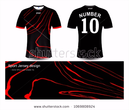 Your Sports Jersey Vectors Download Free Vector Art Stock
