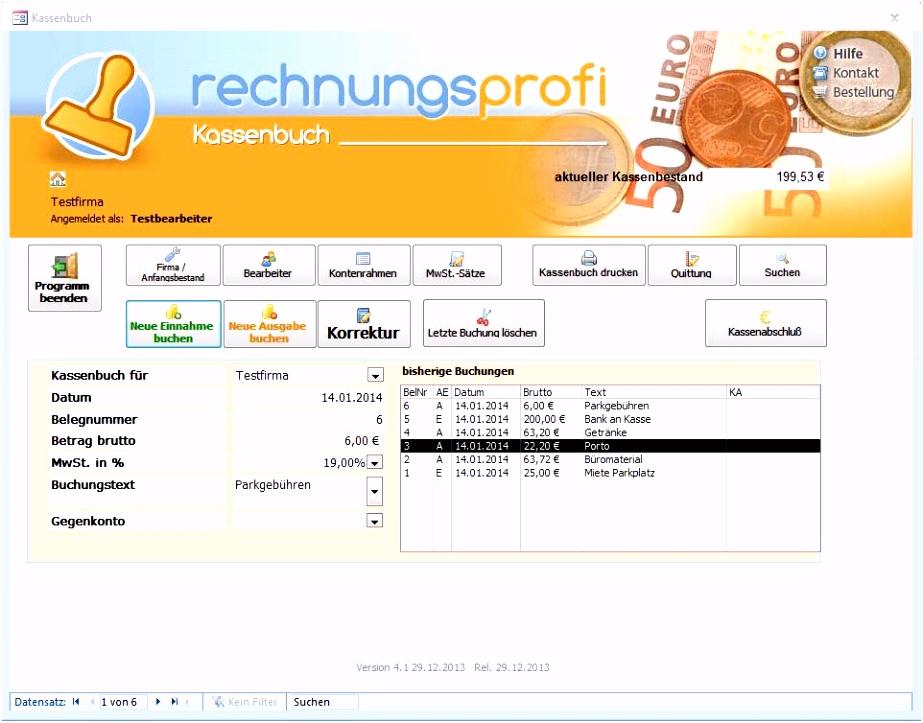 Tageseinnahmen Vorlage Rechnungsprofi software tools & softwareentwicklung Kassenbuch T2bi24hlt4 Oubh6hwdt2