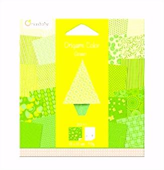 Avenue Mandarine O Set mit 20 Bögen Origami Papier 12 x 12 cm