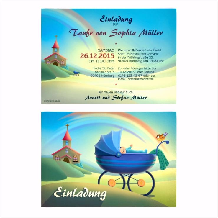 Einladungsbrief Muster Einladungen Einladung Vorlage Einladung Taufe