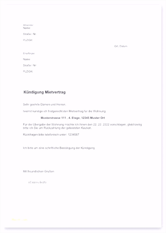 Telekom Kündigung Handyvertrag Beispiel Kundigung Eplus Vorlage 2018
