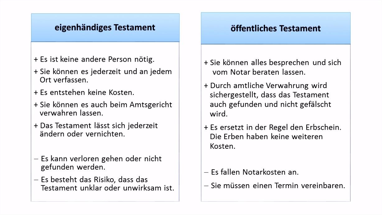testament vorlage checkliste fr ein handschriftliches testament