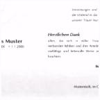 Danksagung Einladung Danksagung todesfall Danksagung Trauer Text