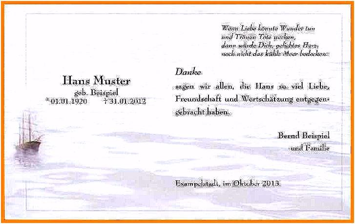 Trauerkarte Schreiben Kurz Mustertext Trauerkarte Schön Trauerkarte