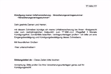 72 Fabelhaft Kündigung Private Krankenversicherung Vorlage Abbildung