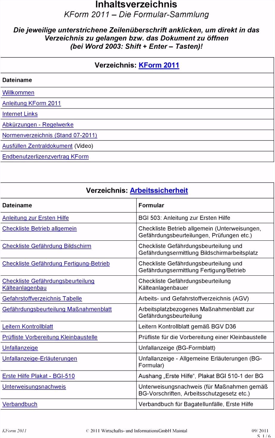 Genial Verbandbuch Vorlage