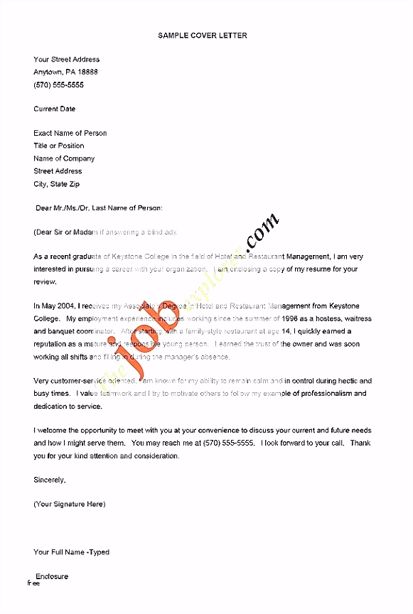 √ Template for Application Letter for Employment and 30 Short Cover