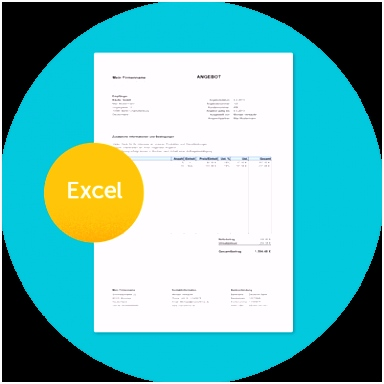 Kostenlose Angebotsvorlage in Excel mit Anleitung Zervant Blog