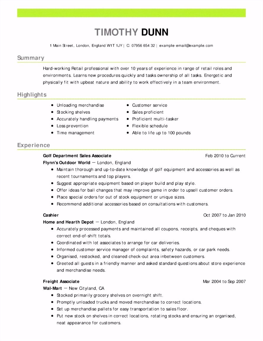 Free Cv Templates Cv Layout Free Beautiful Resume format In Word