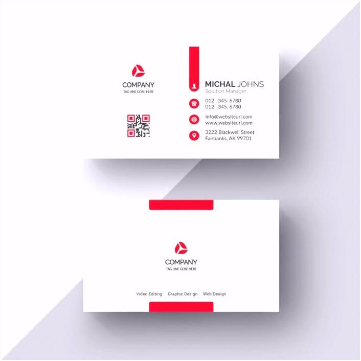 Visitenkarten Design Vorlagen Kostenlos