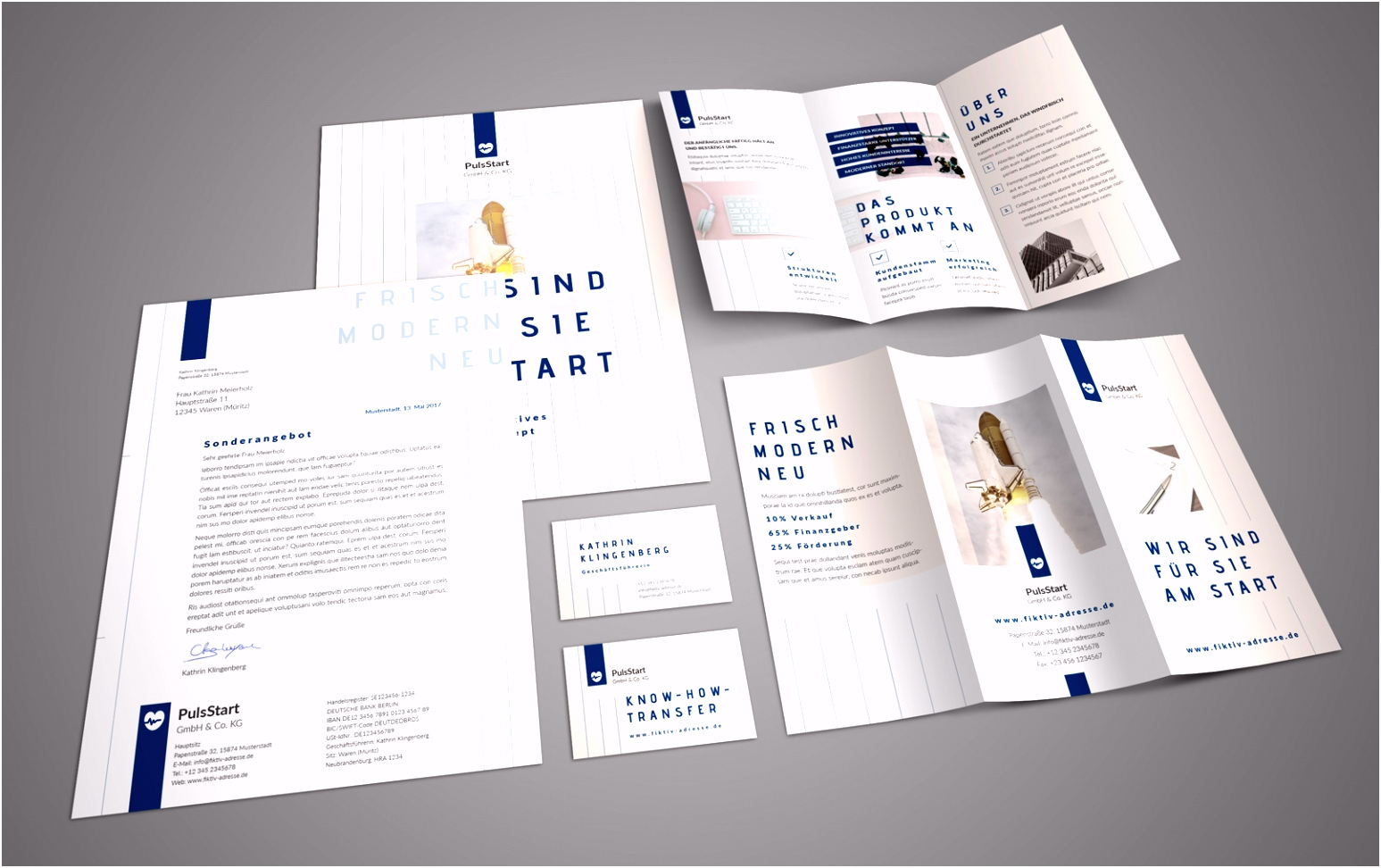 Corporate Design Ausstattung Marketing für Startups & Gründer