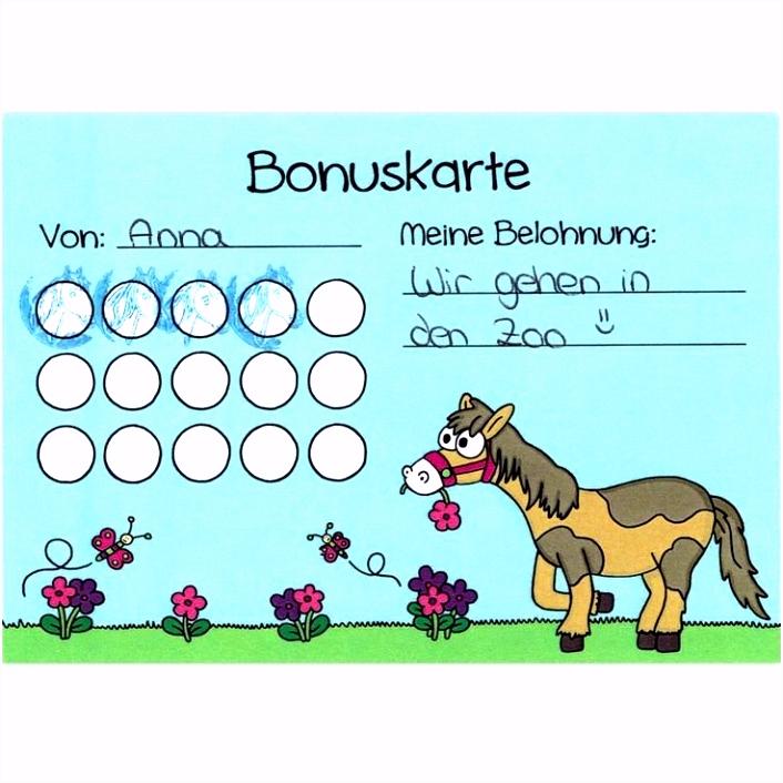 Besten Der Bonuskarte Vorlage