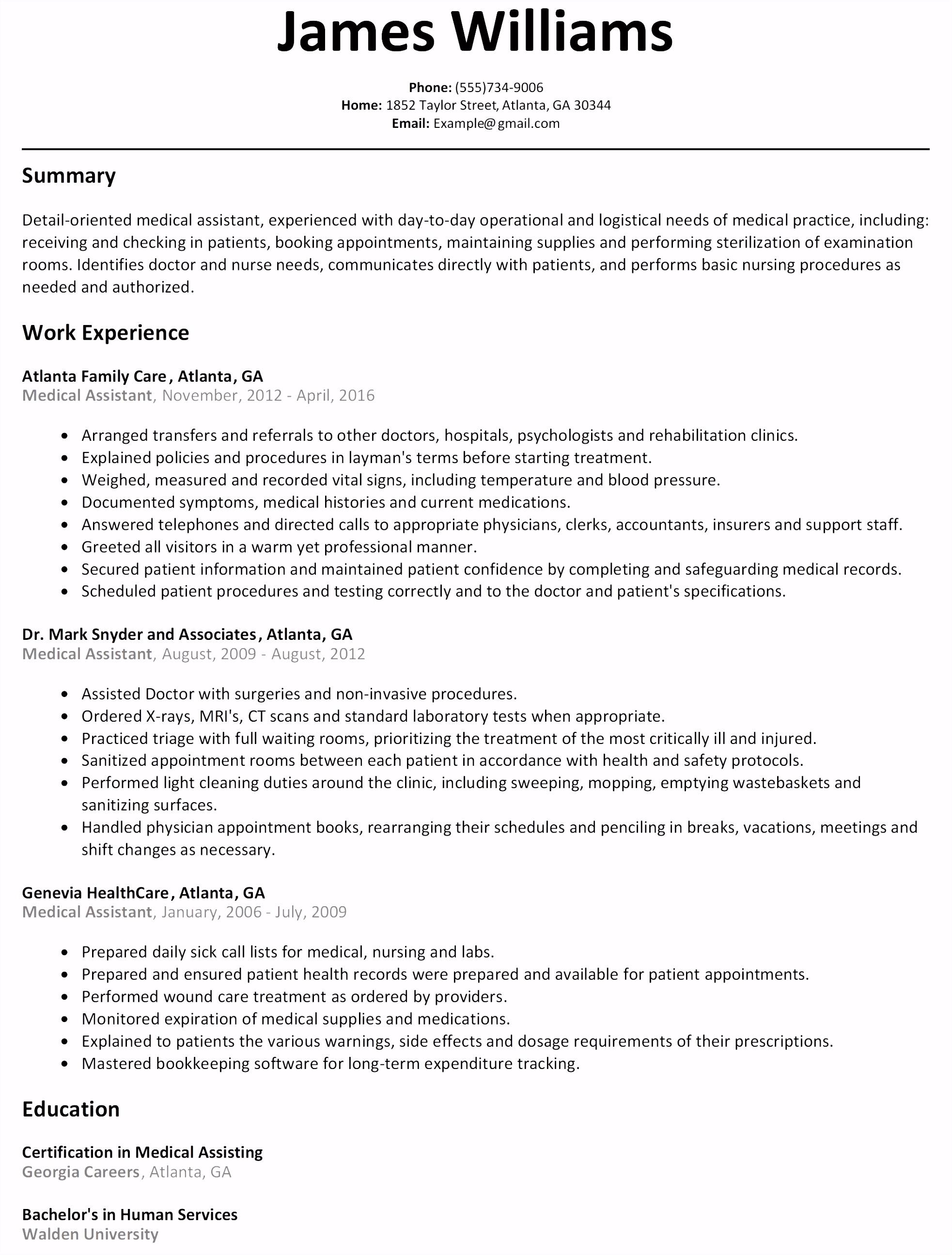Tammy Howell – Professional Resume Template