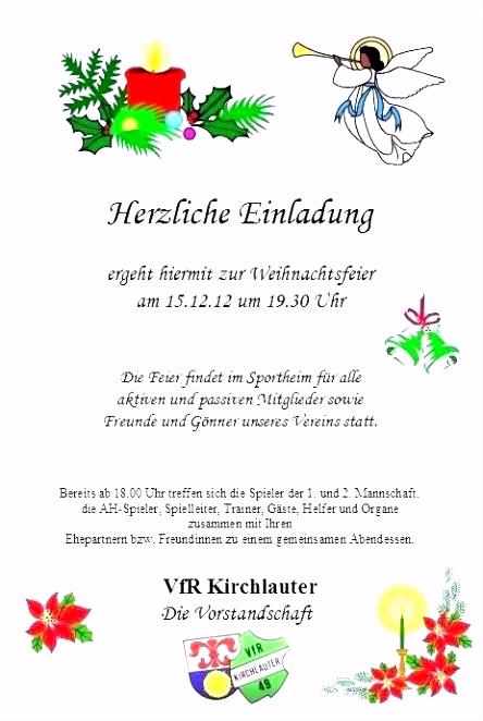 Die Fabelhaften Einladung Weihnachtsfeier Vorlage Text
