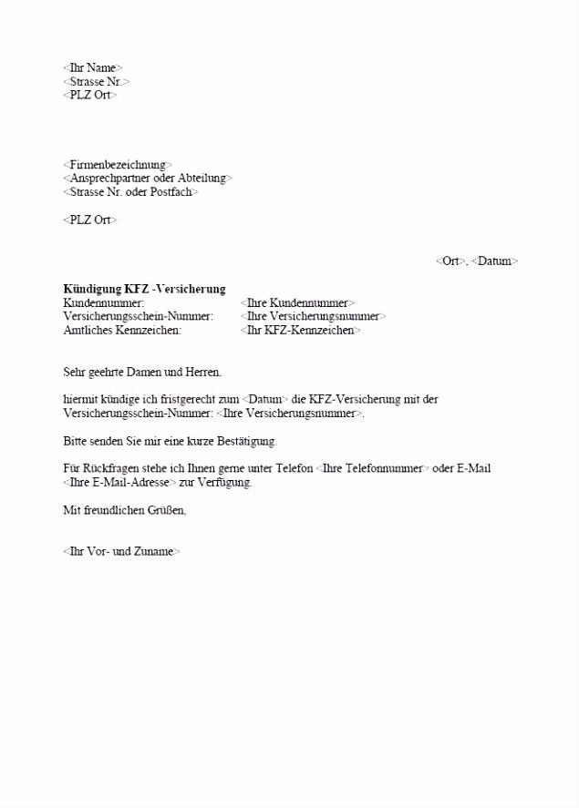 Vorlage Kfz Kundigung Kündigung Kfz Versicherung Wegen Beitragserhöhung Vorlage Fabelhaft C2ds94jtt0 M6jsmhhltu