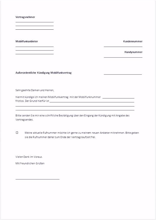 Fristlose Kündigung Mietvertrag Muster