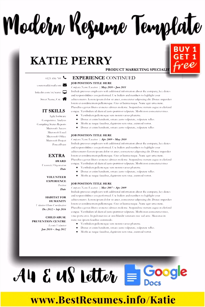 Resume Template Katie Perry Resume Tips Objective