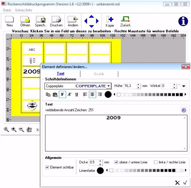 Leitz Ordner Rücken beschriften Software kostenlos