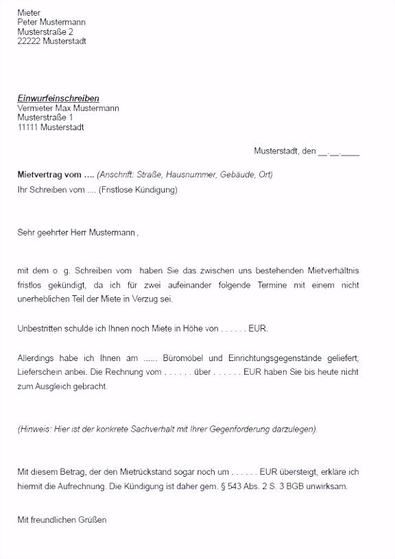 Kündigung Mietvertrag Vorlage Mieter Vorlage Mieterselbstauskunft