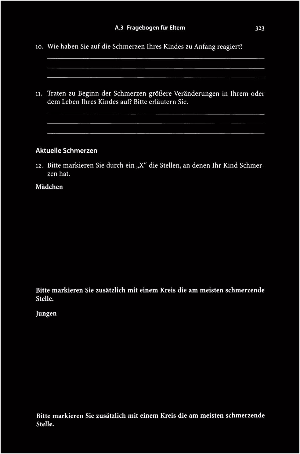 Anhang A Dattelner Schmerzfragebogen PDF