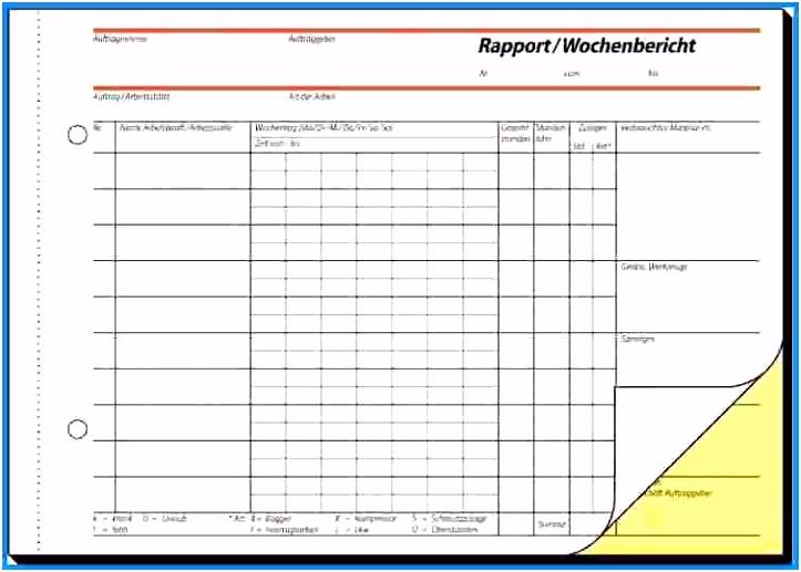Vorlage Wochenbericht Baustelle Best 3 Wochenbericht Vorlage