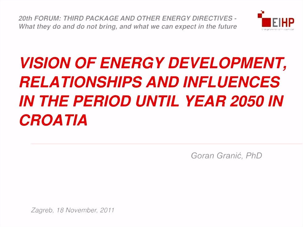 PPT Goran Granić PhD PowerPoint Presentation ID