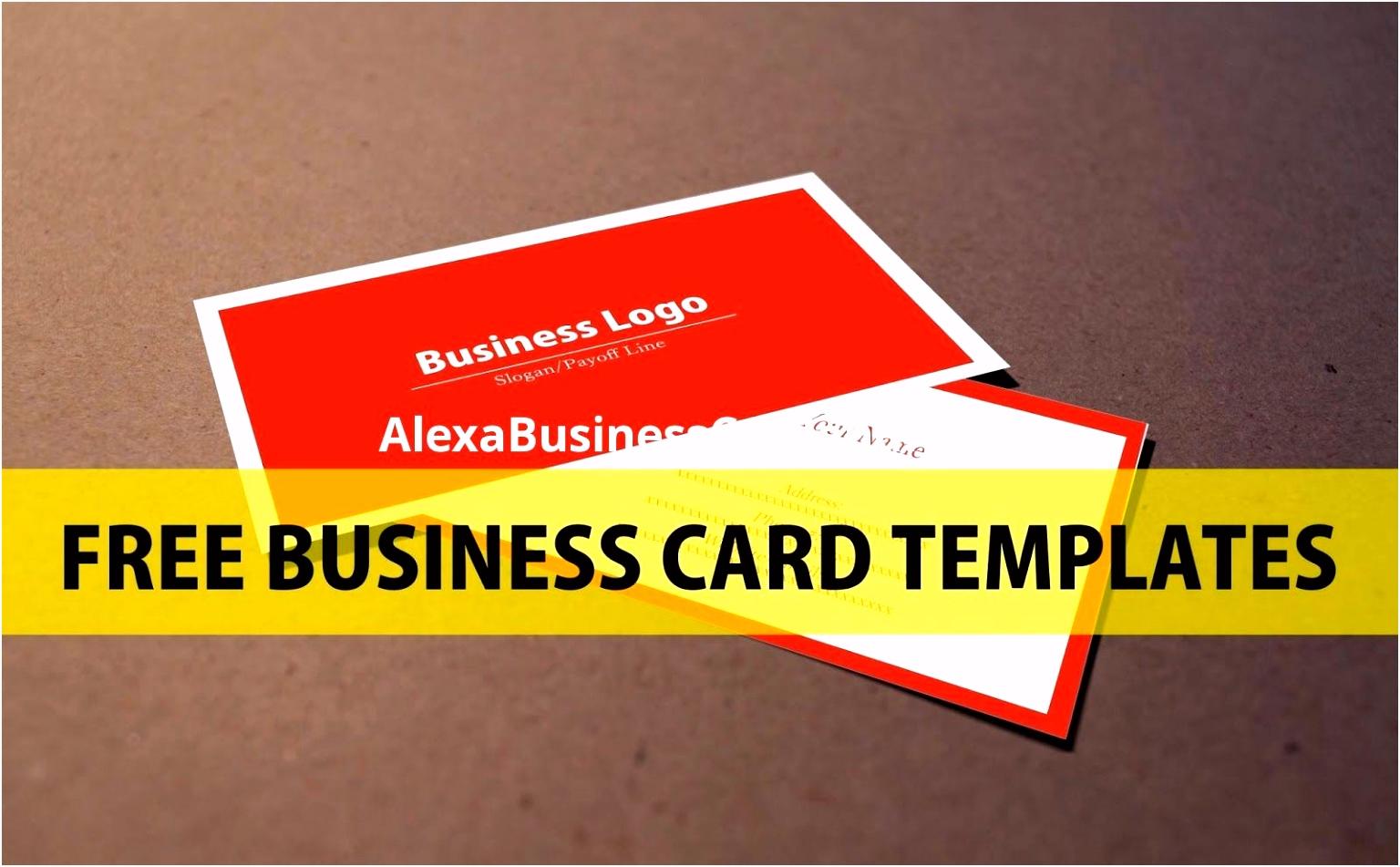 Kostenlose Vorlagen Für Visitenkarten Design Mit Kostenlosen