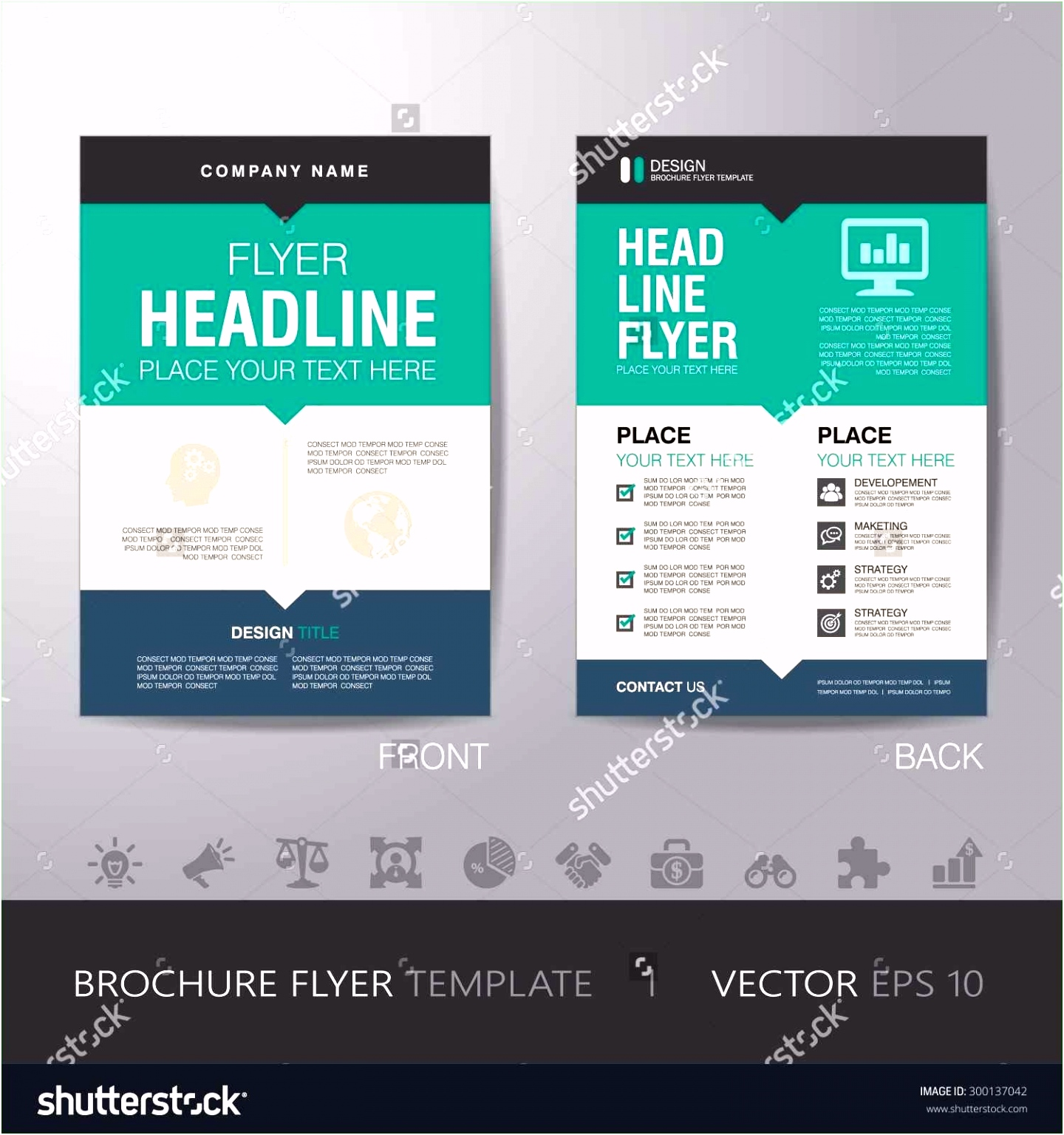 Estimate Template Word to her with Sample Brochure Templates