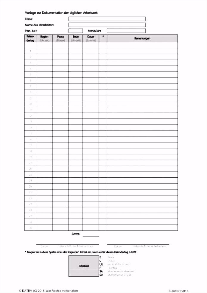 Vorlage Zur Dokumentation Der Taglichen Arbeitszeit Datev 2015 36 überzeugend Vorlage Zur Dokumentation Der Täglichen Arbeitszeit Y2yb92gda3 D4uuh5dcf4