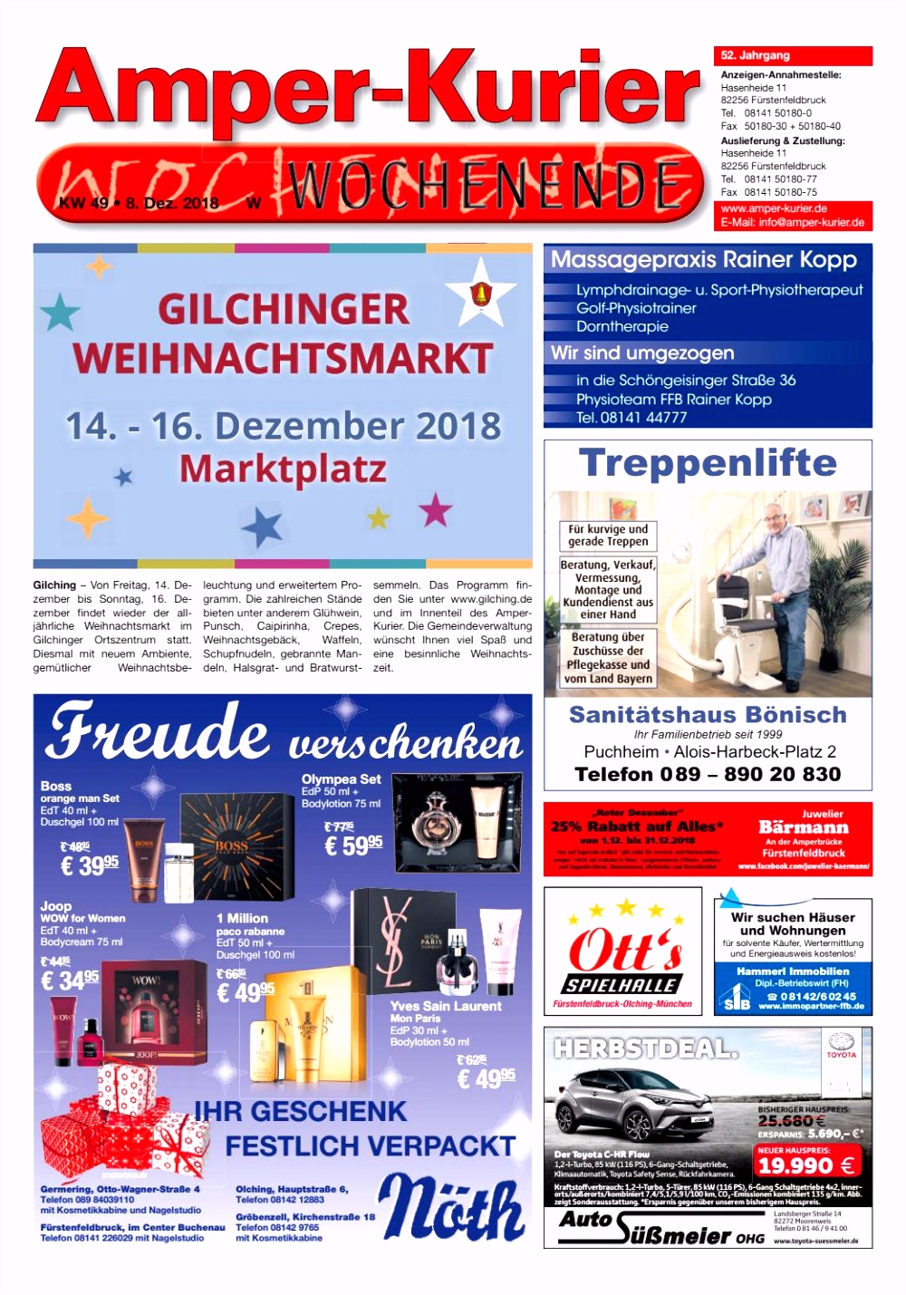 2018 49s Amper Kurier Sa 08 12 2018 by wolff me nberatung issuu