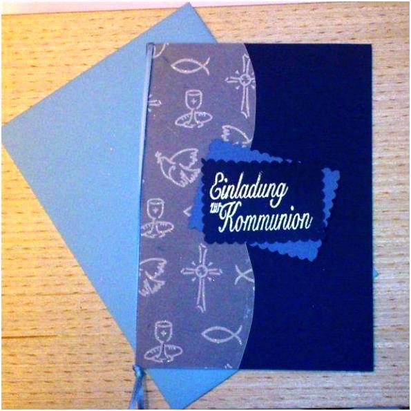 Kommunion Einladung Selber Machen Einladung Postkarten Selbst