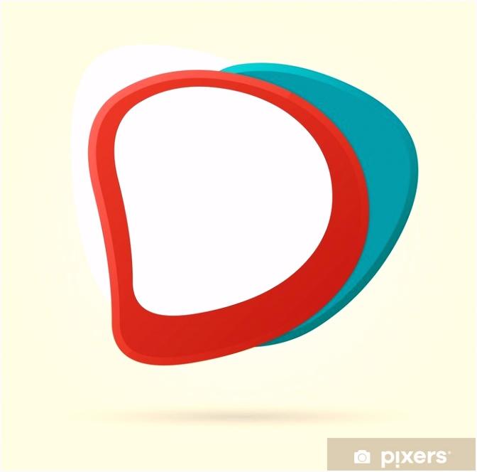 Aufkleber Colorful Vorlage für Werbebroschüre • Pixers Wir leben