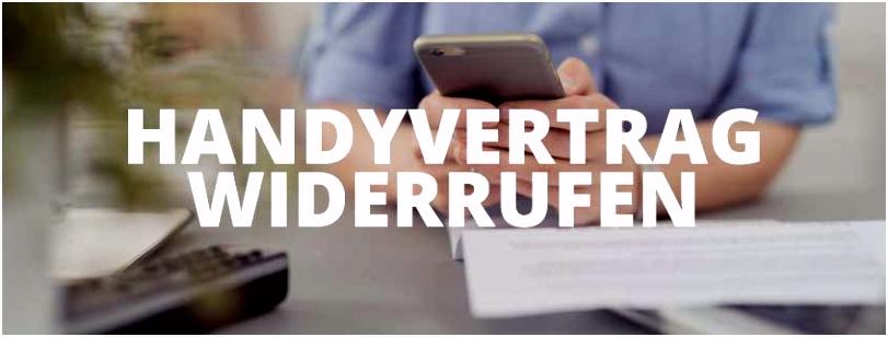 Handyvertrag widerrufen Handyvertrag Widerruf als GRATIS Download