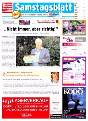 KW 01 2018 by Wochenanzeiger Me n GmbH issuu