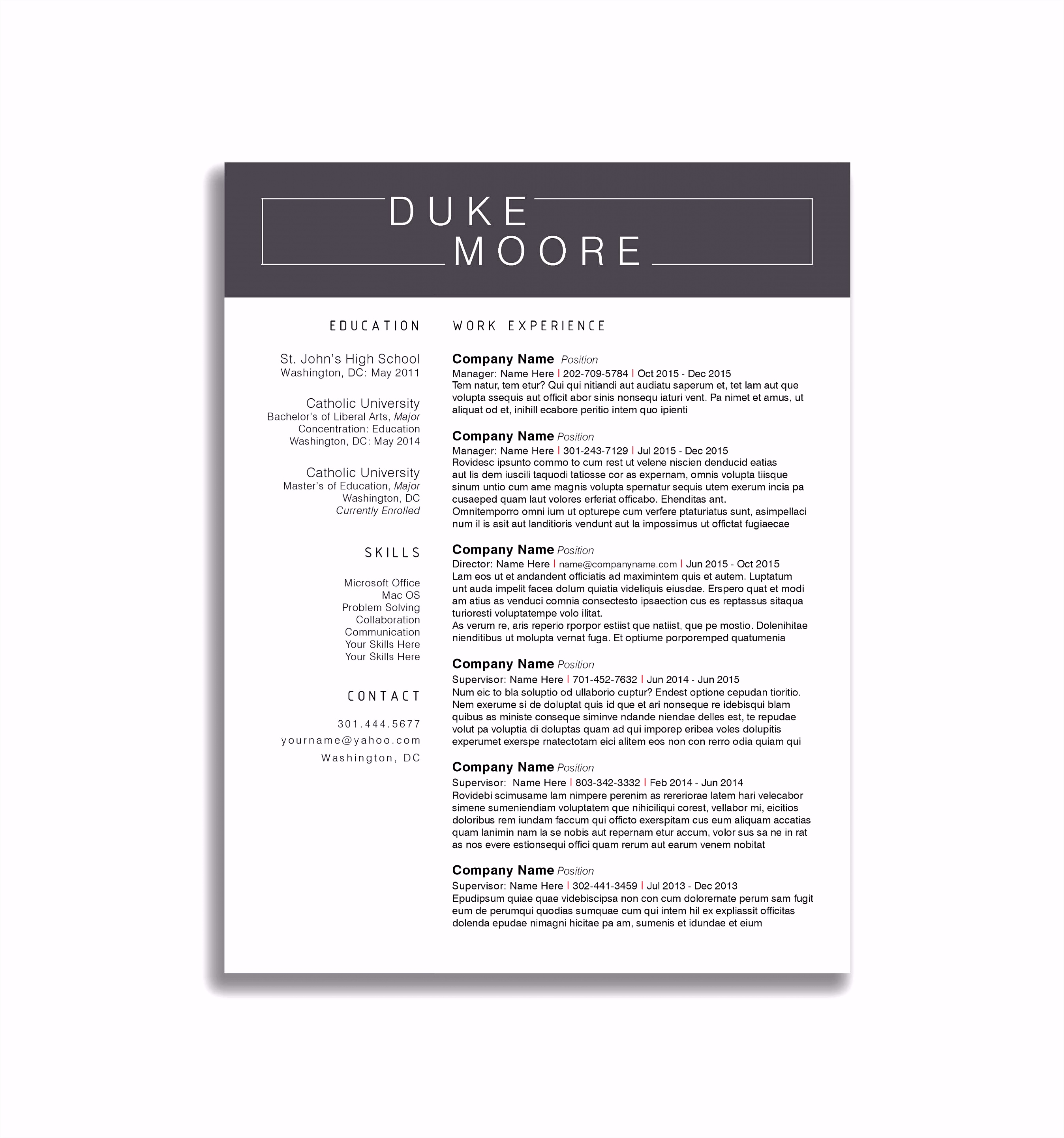 50 Draft Invoice Template Word