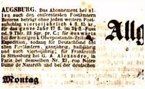 Allgemeine Zeitung –