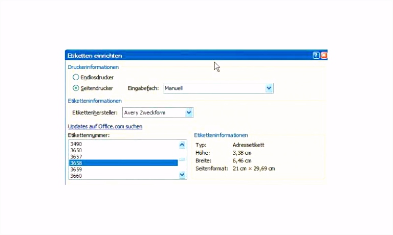 fice Tipps Etiketten mit Word 2010 erstellen PC Magazin
