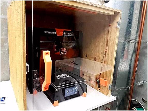 Diy 3d Printer Enclosure Wanhao Duplicator I3 Plus Enclosure Kit by