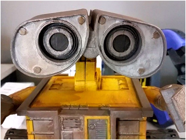 Wall E Robot Fully 3D Printed by ChaosCoreTech Thingiverse