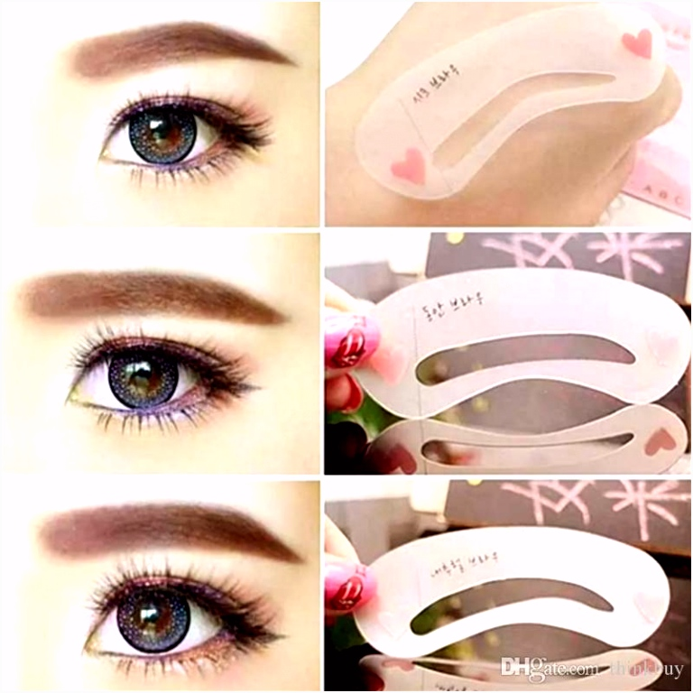 Sopracciglio Eyebrow Shaping Stencil Grooming Template Women Beauty