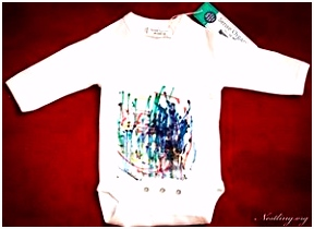 Baby Body Bemalen 10 babybodys bemalen bo s mit textil mal farbe