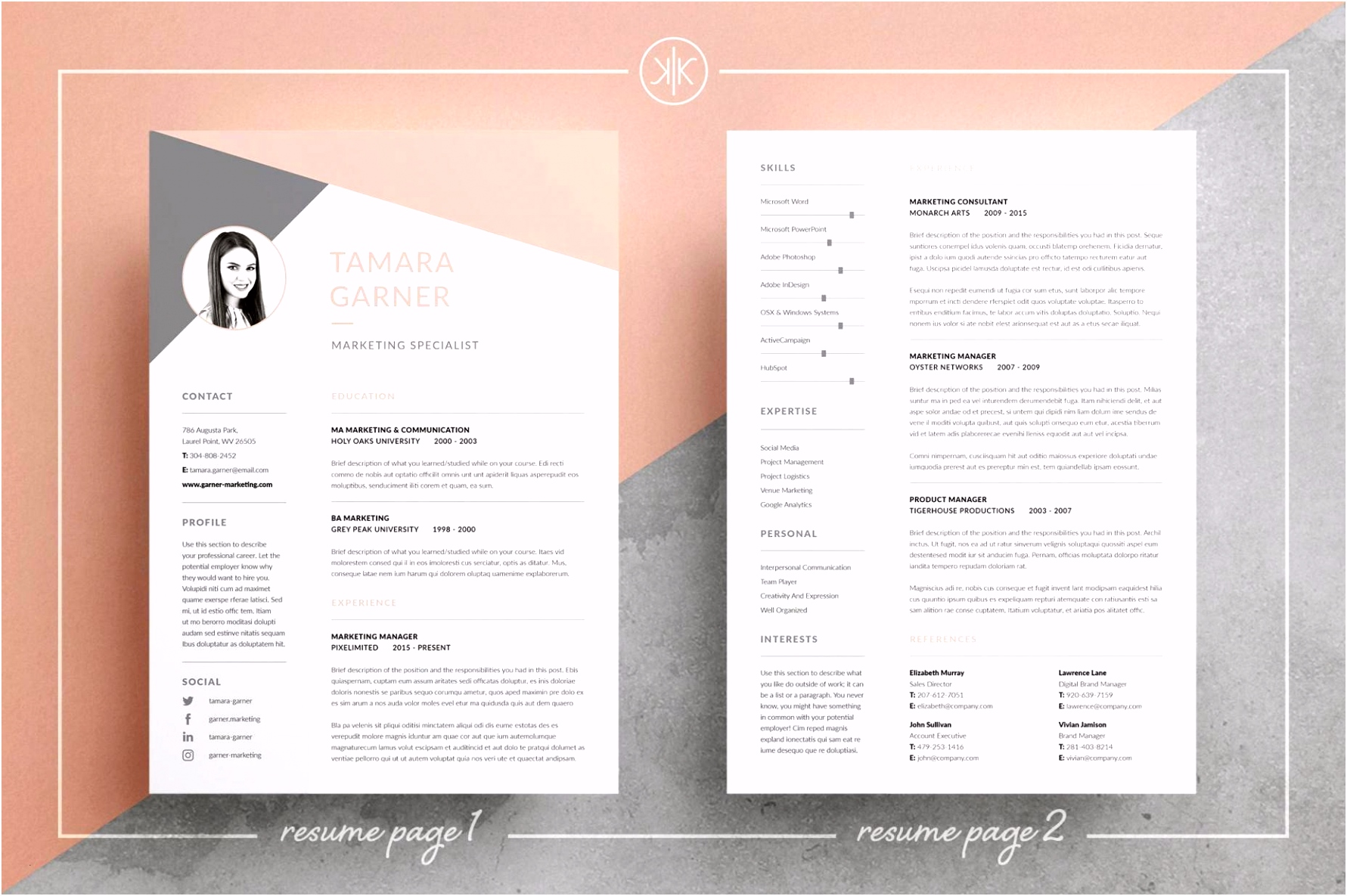 200 Free Resume Layout Design