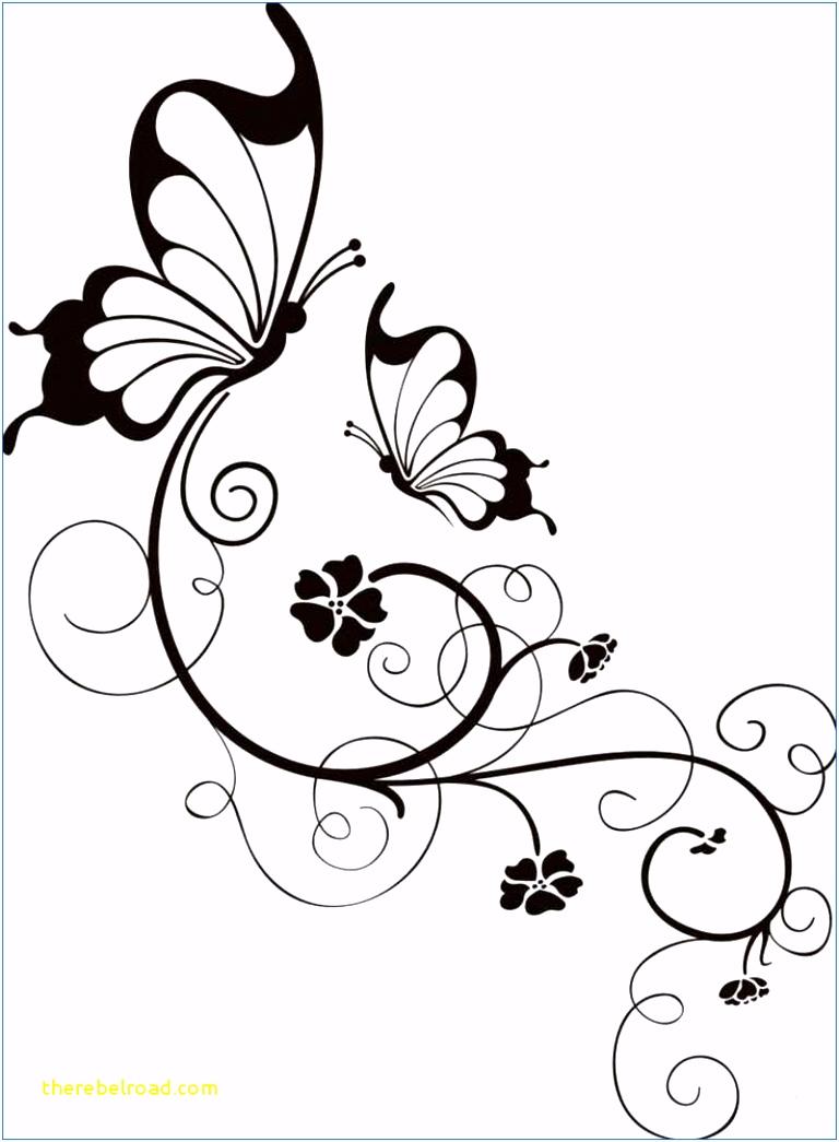 Malvorlagen Blumen Rahmen
