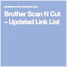 2180 Best BROTHER SCAN N CUT images in 2019
