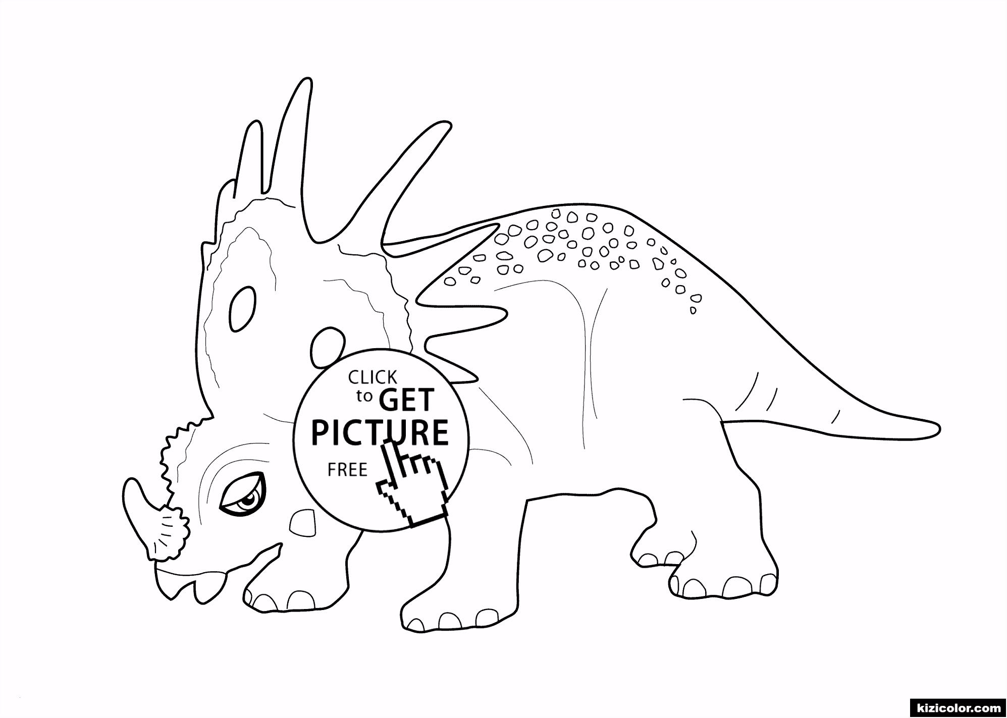 Ausmalbilder Dinosaurier Kostenlos Ausdrucken Frisch Malvorlagen Mit