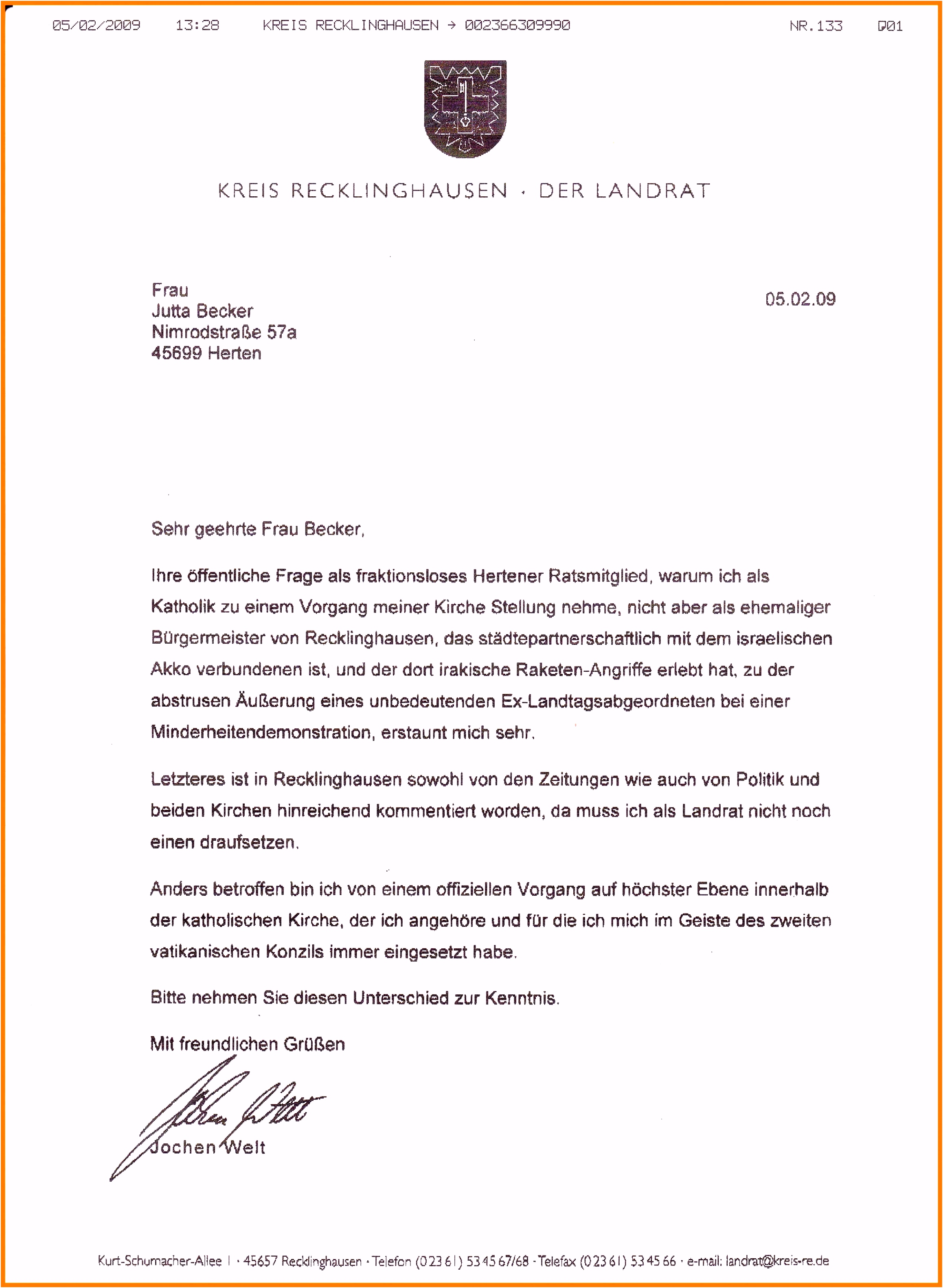 7 formeller Brief Vorlage Kabkqb